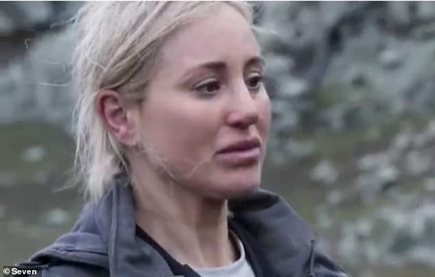'It was double the height when I fell': Roxy Jacenko (pictured) revealed the extraordinary truth behind this helicopter stunt on SAS Australia on Tuesday