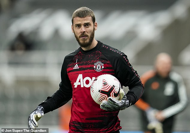 David de Gea has been at United for nine years but has been shunned as the captain