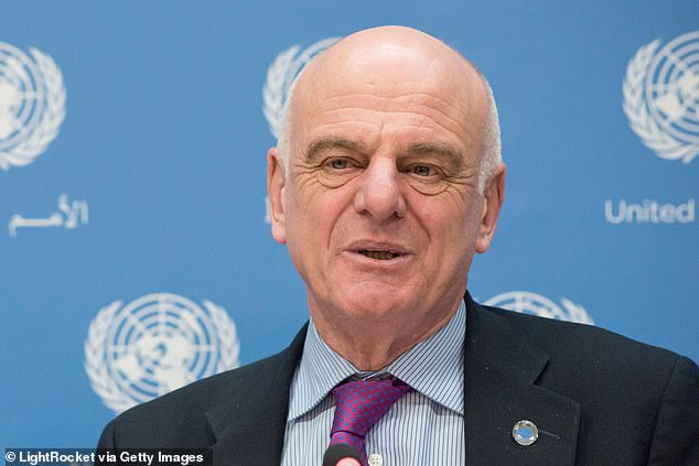 Dr David Nabarro, the World Health Organisation special envoy on Covid-19, told the All-Party Parliamentary Group (APPG) on Coronavirus the virus was 'not going to go away', even if a vaccine comes to the rescue next year