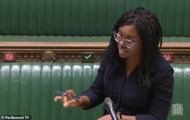 The Tory MP said schools teaching 'elements of political race theory as fact' were breaking the law