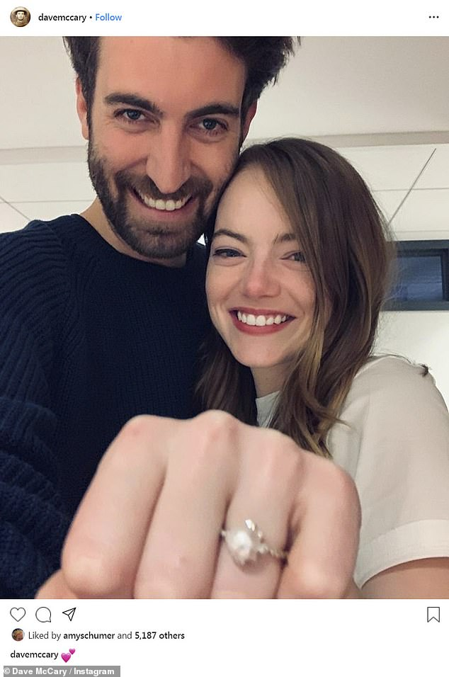 Husband and Wife: Emma and her fiancé Dave McCary are reportedly husband and wife now. She recently married the 35-year-old segment director of Saturday Night Live, according to a report by PageSix in September