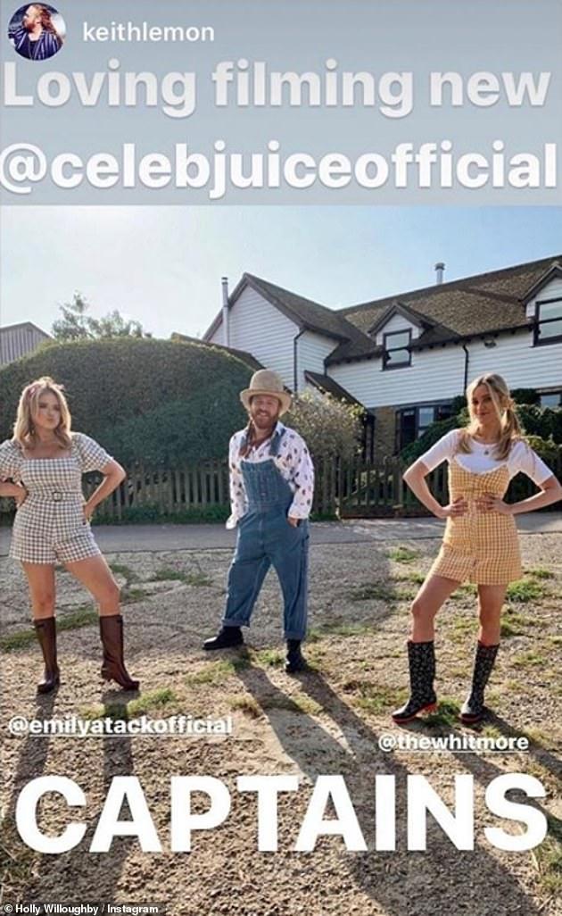 Back soon:Celebrity Juice starts on Thursday, October 22nd at 10pm on ITV2