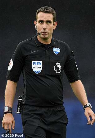 David Coote was the VAR officer who wasn't looking for a possible red card