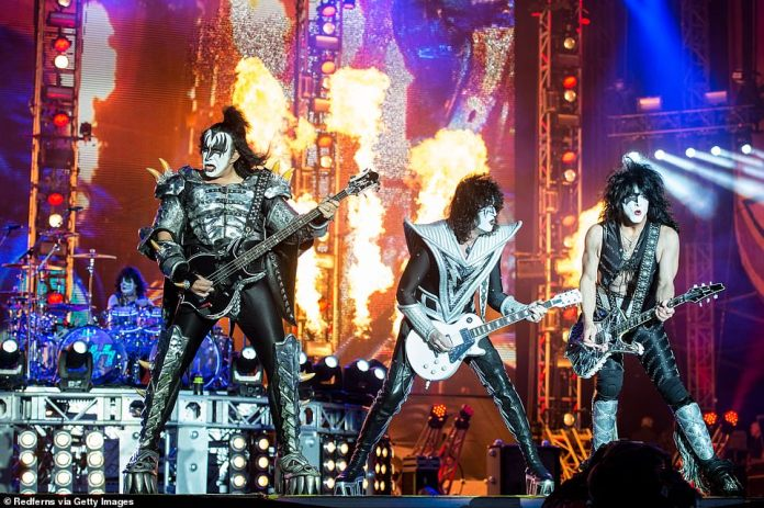 Rock Legends: KISS was inducted into the Rock And Roll Hall of Fame in 2014