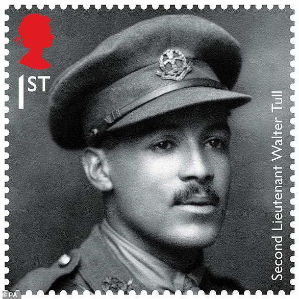 On the centenary of the end of the Great War, Walter was remembered on a First World War stamp for his contribution to the war effort