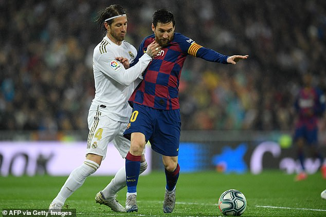 Sergio Ramos and Lionel Messi will tussle for domination over the other again on Saturday