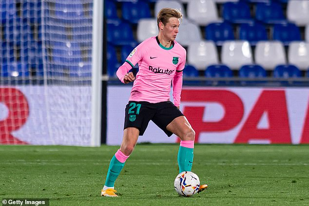 Frenkie de Jong will need to brush off recent criticism and step up to the plate for Barcelona