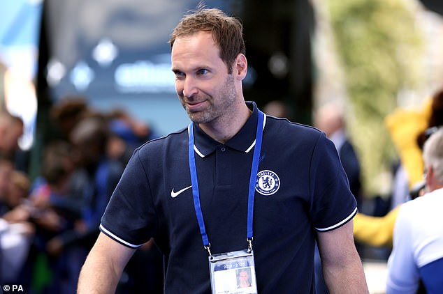 Petr Cech now works at a Chelsea advisor but ended his professional career at Arsenal