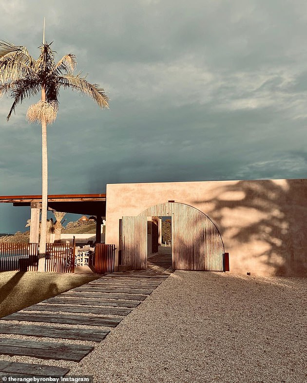 Escape: It was revealed earlier this month that Nicole and Keith had splattered luxury accommodations throughout their stay and rented a Spanish eco-villa called The Range