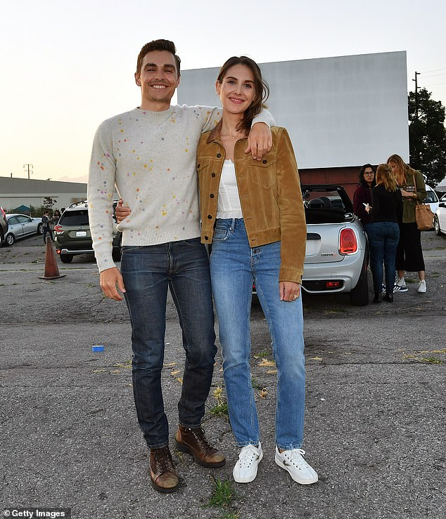 Making a mark: Franco received some good reviews for his directorial debut in horror film The Rental with real wife Alison Brie last summer; They will be seen together at an advanced screening at a drive-in in June 2020