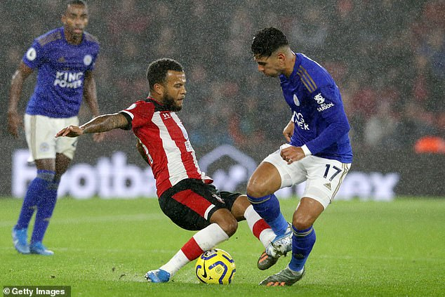 Ryan Bertrand (left) claims the 9-0 loss to Leicester City this time last year felt like 'relegation'