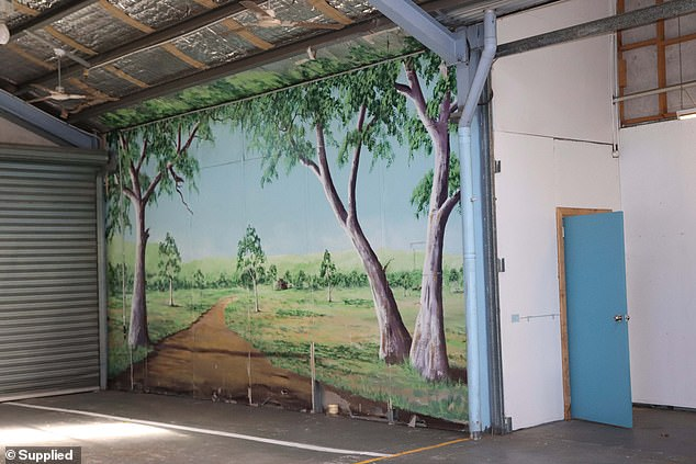 Artworks (pictured) created by inmates other than Lawson will be preserved at Grafton jail along with other features deemed to be of heritage value