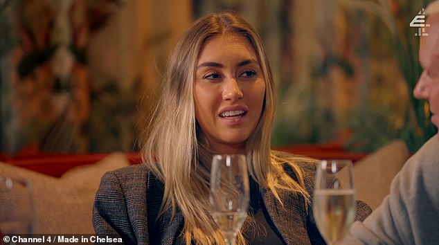 Teaser: Jamie and his girlfriend Sophie Habboo meet Alex Mytton for a glass of champagne to toast Jamie's new business
