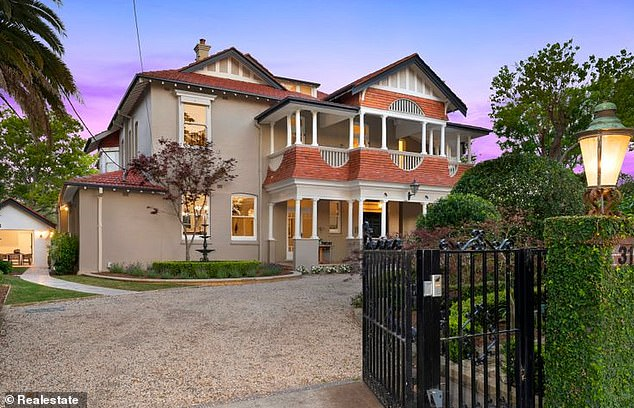 Homes in areas such as Ku-ring-gai Council area (pictured: house in Turramurra for sale at $5.89M) have a profit margin of$616,000