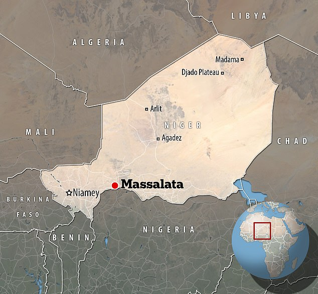 The village of Massalata in the Birnin Konni region is 400 kilometres (250 miles) east of the country's capital Niamey, and close to the Niger-Nigeria border to the south