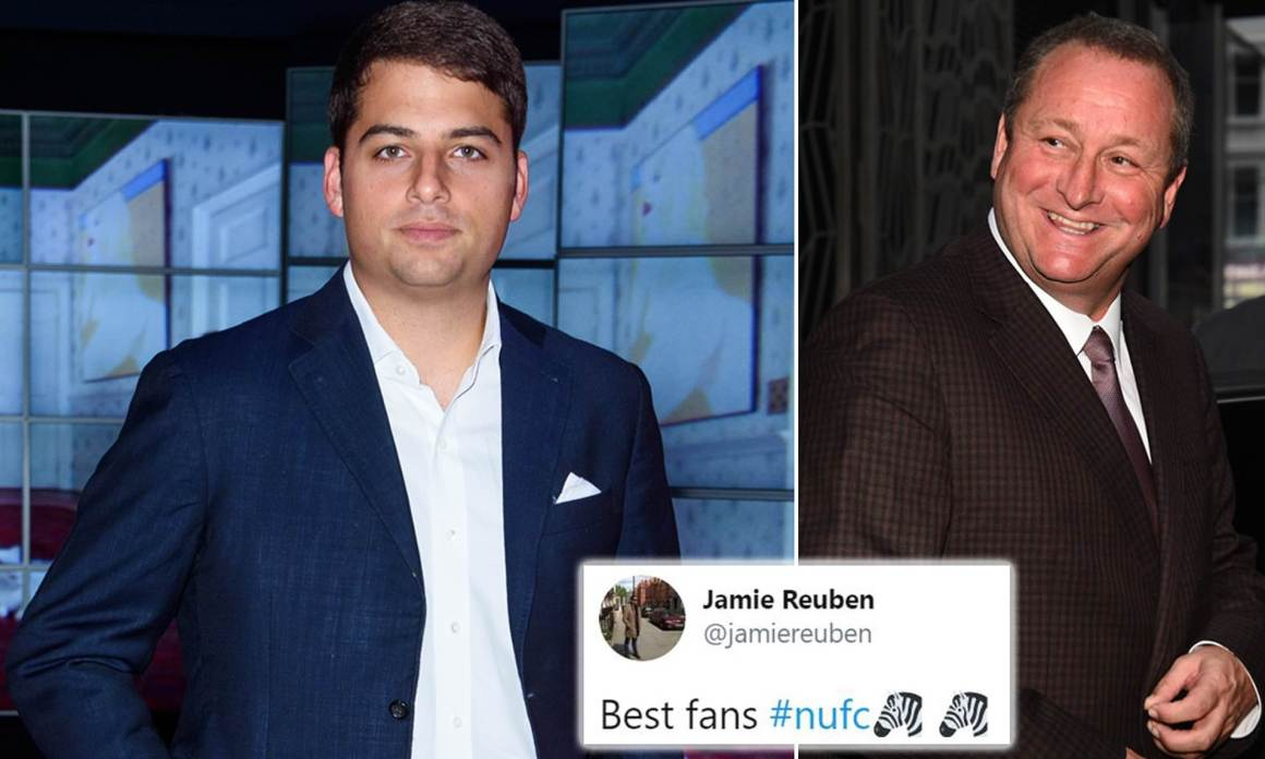 Newcastle United: Jamie Reuben drops hint that £300m takeover is still  alive   Daily Mail Online