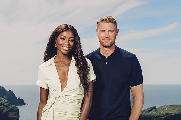 AJ Odudu who is best known for presenting Big Brother, said the participants endured worse conditions than Celebrity SAS: Who Dares Wins. Pictured: AJ and Freddie