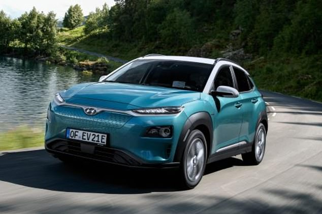Hyundai Kona Electric (pictured) was listed in the Guinness Book Of Records in January