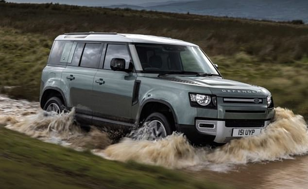 The Land Rover Defender, the successor to the Range Rover Velar, is a plug-in hybrid
