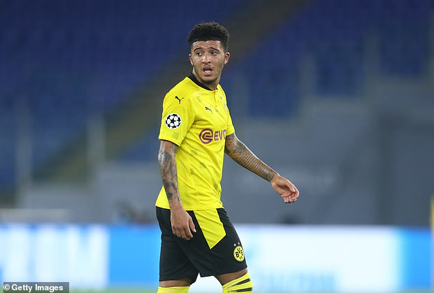 Jadon Sancho's form has dipped at the star of this season for Borussia Dortmund