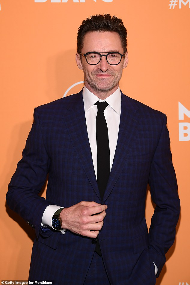 'He was shirtless. Everyone was going gaga over him': Meanwhile, David dubbed Australian actor Hugh Jackman 'fantastic' but jokingly confessed he took offence to him jumping in the pool when they both stayed at the same resort