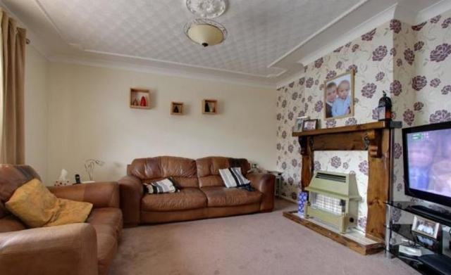 7) A three-bedroom semi-detached house in Middlesbrough is on the market for £89,000, having first been listed on July 7, 2015. It features a decent-sized back garden along with a modern bathroom and kitchen and gravelled front garden