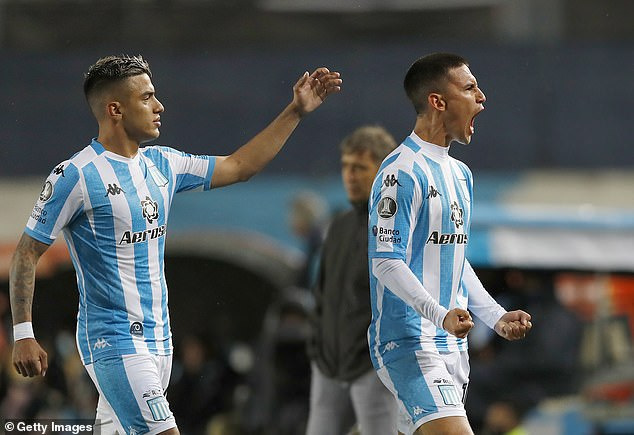 Racing have made it to the last 16 of the Libertadores and will likely prioritise that tournament