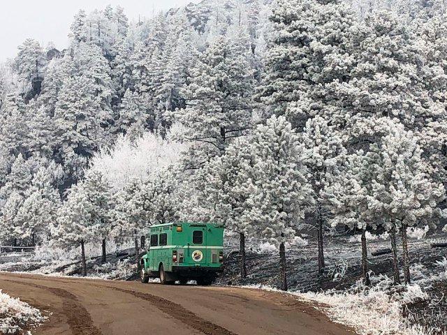 Snow feel from the sky this week that slowed the spread and helped firefighters keep the fire away from Estes Park, where more than 6,000 residents were evacuated