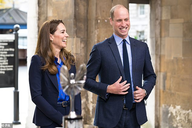 William and Kate offered their kind words as the breakfast TV presenter introduced the royal couple to NHS members at St Bartholomew's in the City of London. The presentation at the hospital was filmed for the climax of the Daily Mirror Pride of Britain Awards 2020, in partnership with TSB, which will air Sunday, November 1 at 9 p.m. on ITV.
