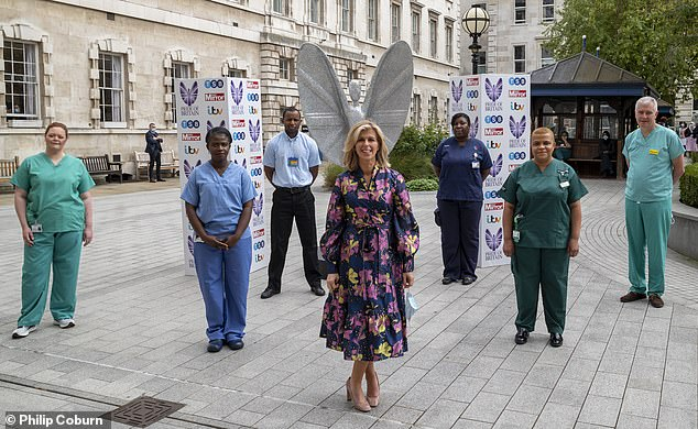 Kate Garraway introduced the royal couple to the six NHS representatives who each spoke to them about the challenges they and the health service have faced in the fight against the coronavirus