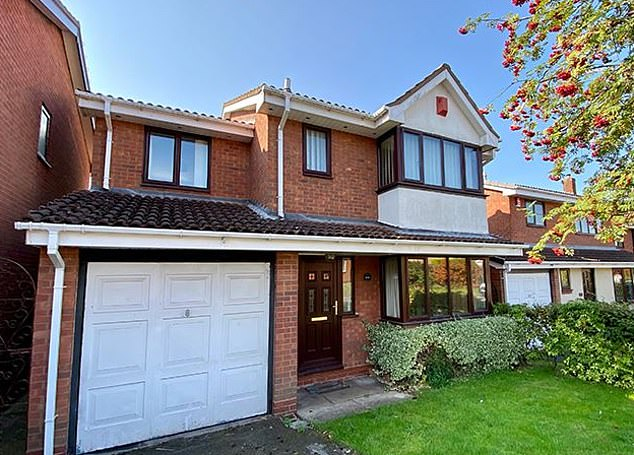 This four-bed detached house in Erdington, Birmingham, had a guide price of £195,000 and is now sold subject to contract
