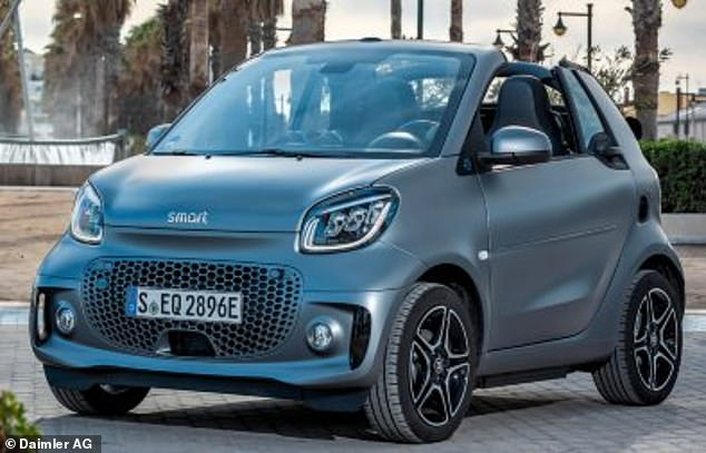 Smart's fortwo and forfour models are among the smallest vehicles currently on the market
