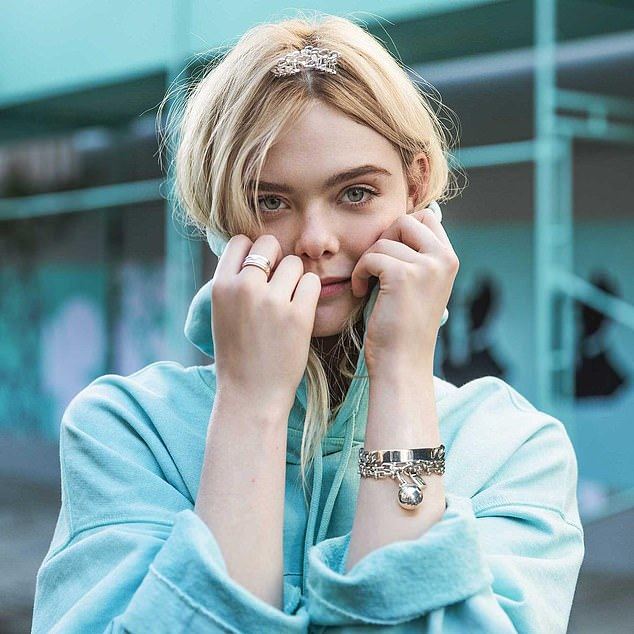Sparkle: Actress Elle Fanning promotes Tiffany¿s jewellery