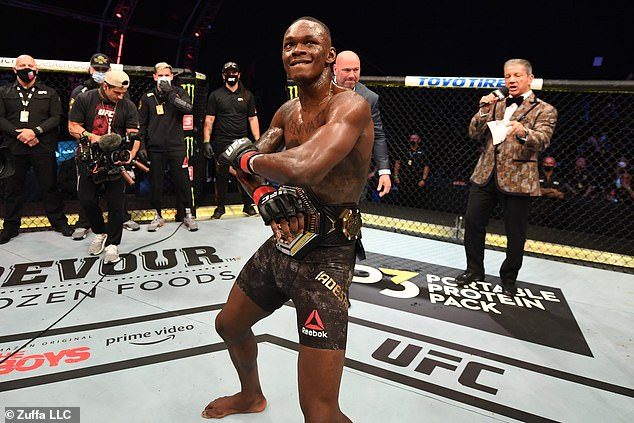 Adesanya demolished Paulo Costa at UFC 253 on Fight Island and is keen to move up