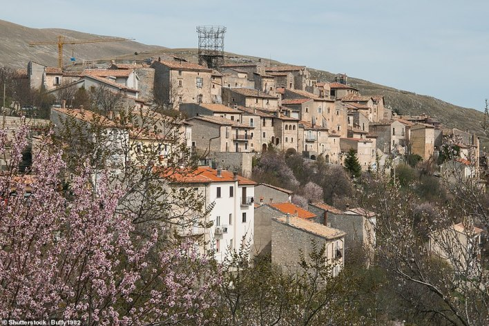 The aging Italian village of Santo Stefano di Sessanio is offering to pay potential residents up to £40,000 to move there in an attempt to reboot the economy