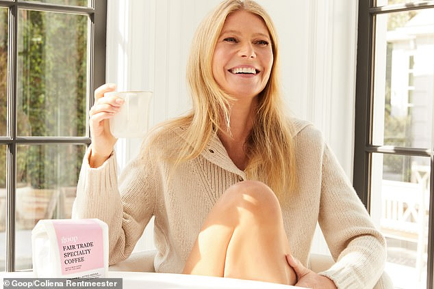 Good morning:On Thursday this week, Gwyneth Palrtow's goop launched their first-ever goop Fair Trade Specialty Coffee