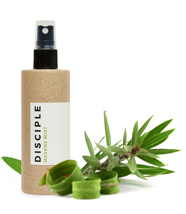 Maskne begone:London-based beauty and wellness brand Disciple has launched Maskne Mist