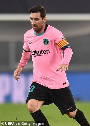 Lionel Messi remains a sensational talent but changed his role to be much more central