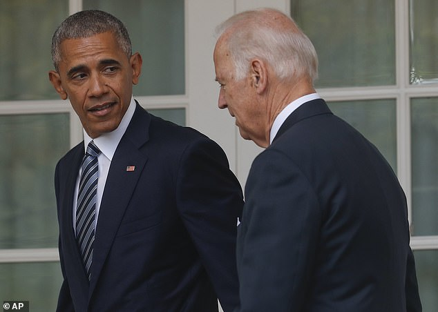 Donald Trump claimed that Barack Obama was lukewarm about Biden's candidacy