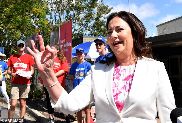 The Labor Premier is set to make history as the first-ever female political leader to triumph at three elections, thanks to the support of retirees worried about COVID-19