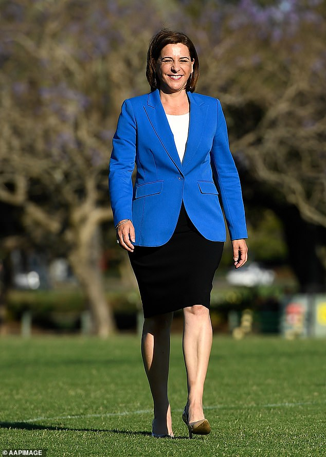 Opposition Leader Deb Freckington has largely backed Labor's border closure, apart from criticising the premier in September for stopping 26-year-old Canberra nurse Sarah Caisip from attending her father Bernard Prendergast's Brisbane funeral