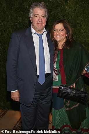 Leon Black and Debra Black pictured in November 2017 in New York City. In 2012, four years after Epstein's conviction, Black is even said to have gone for dinner at Epstein's private island residence, dubbed Pedophile Island, in the U.S. Virgin Islands