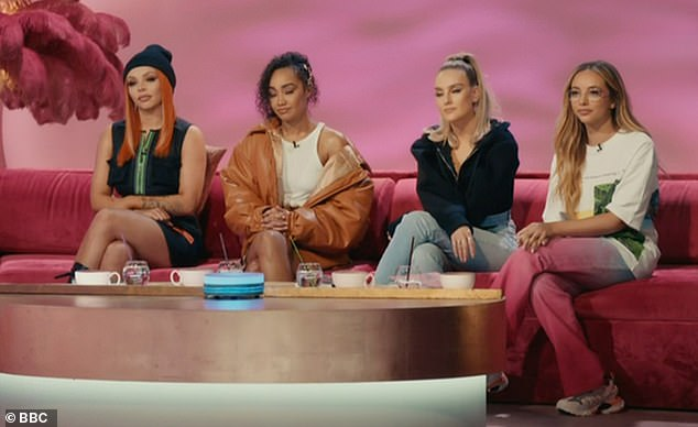 Schedule shake-up: Instead, Perrie Edwards, Leigh-Anne Pinnock, Jade Thirlwall and Jesy Nelson will return to screens for the semi-final next Friday, with the final following on Saturday