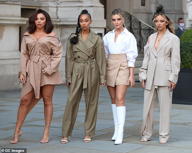 On the hunt: Little Mix: The Search has seen the X Factor winners join forces to find a group that can support them on their upcoming tour