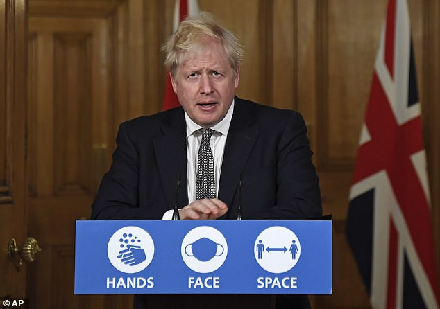 Boris Johnson's new raft of restrictions have dealt 'a devastating blow' to business communities, the head of British Chambers of Commerce has said