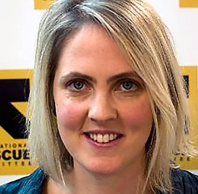 Quids in:UK executive director Laura Kyrke-Smith, (pictured) who worked as a ministerial speechwriter in the Foreign Office during Mr Miliband's tenure, has also received huge sums of money from the charity