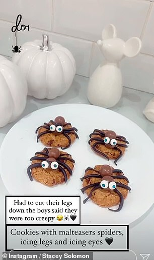 Tasty: Cookies were on the menu for Halloween