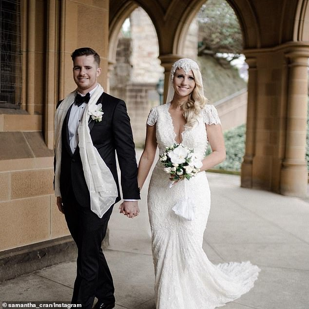 Samantha Cook, 33, wed husband Stuart on November 7, 2015, before the pair embarked on a year-long holiday together to celebrate, travelling through Europe and South America