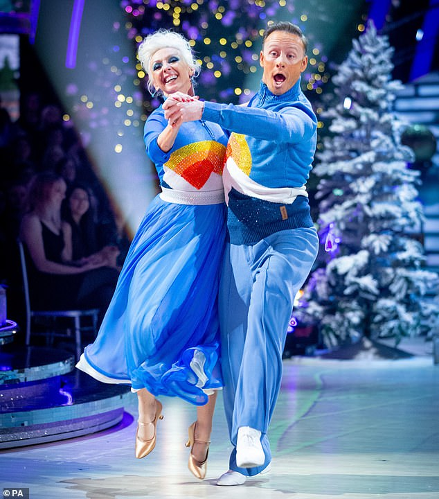 Winners! Kevin's last Strictly appearance on the show was during the December 2019 Christmas special alongside Debbie McGee