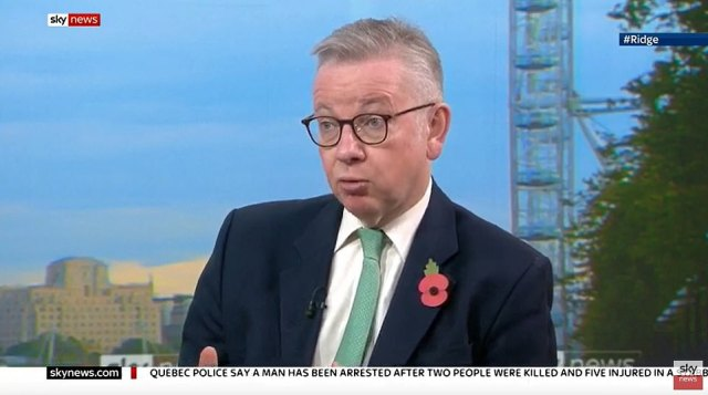 Appearing on Sophy Ridge on Sunday on Sky News he was repeatedly pressed on whether the lockdown could be extended before its current December 2 cut-off